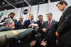 Международная выставка обороны в Абу-Даби Стоковое Изображение