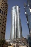 Международная исламская башня банка в Дохе, Катаре Стоковое Фото