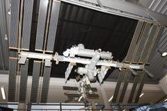 Международная космическая станция - ИСС - модель Стоковое Изображение