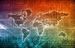 международная торговля иллюстрация штока