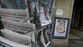 Международные кассеты и газеты видеоматериал