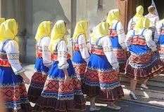Международные народное искусство и музыкальный фестиваль Стоковая Фотография RF