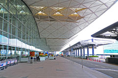 Международный аэропорт Гонконга Стоковые Изображения RF