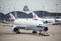 Международный аэропорт Гонконга Стоковое Фото