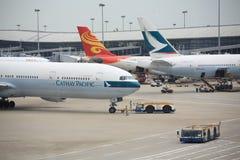 Международный аэропорт Гонконга Стоковое Изображение RF