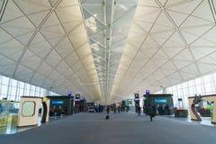 Международный аэропорт Гонконга стоковое фото rf