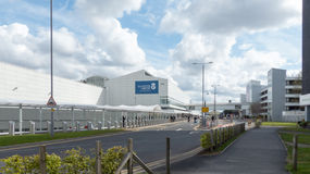 Международный аэропорт Глазго стоковые изображения