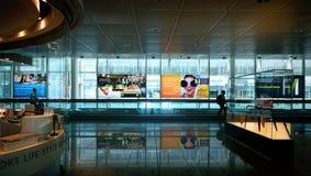 Международный аэропорт Мюнхена, междурядье в terminal2 Стоковые Изображения