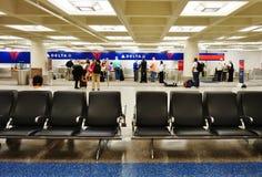 Международный аэропорт Пола Миннеаполис-Святого (MSP) стоковое фото rf