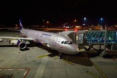 Международный аэропорт Праги Стоковая Фотография RF