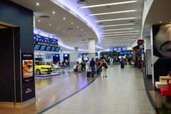 Международный аэропорт Праги Стоковые Фото