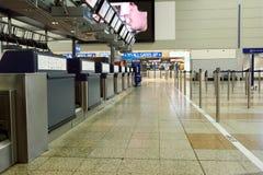 Международный аэропорт Праги Стоковое фото RF