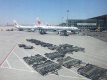 Международный аэропорт столицы Пекина Стоковые Фото