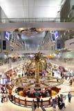 Международный аэропорт Дубай главный эпицентр деятельности авиации в Middl Стоковое Изображение