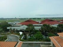 Международный аэропорт Mactan Cebu стоковые фото
