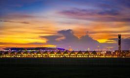 Международный аэропорт Suvannaphumi Стоковые Фотографии RF