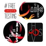 Международный день СПИДА Стоковые Фото