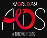 Международный день СПИДА Стоковое фото RF