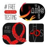 Международный день СПИДА Стоковая Фотография RF