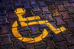 Международный день людей с инвалидностью Стоковая Фотография