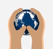 Международный день для консервации озонового слоя Стоковая Фотография