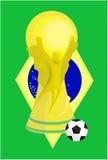 Международный трофей футбола Стоковое фото RF