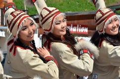 Международный фестиваль танца горы Стоковое фото RF