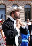Международный фестиваль фольклора, 2017 , Загреб, Хорватия, 111 Стоковая Фотография RF