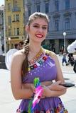 Международный фестиваль фольклора, 2017 , Загреб, Хорватия, 127 Стоковое Изображение RF
