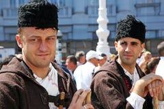 Международный фестиваль фольклора, 2017 , Загреб, Хорватия, 129 Стоковые Изображения RF