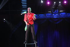 Международный фестиваль цирка Стоковое Фото