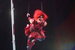 Международный фестиваль цирка Стоковое Изображение RF