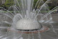 Международный фонтан, Сиэтл, США стоковые фотографии rf