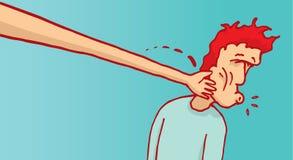 Международный шлепать протягивать руку Стоковое Изображение