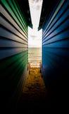 Между купать коробки Стоковая Фотография RF