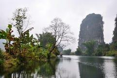 Между рекой Yulong Стоковое Изображение RF