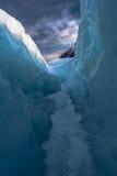 Между льдом и небом Стоковая Фотография