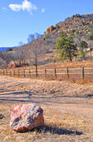 Меза на старой западной дороге стоковое изображение