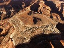 меза пустыни Стоковые Фотографии RF