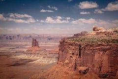 Мезы Canyonlands стоковые фотографии rf