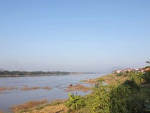 Меконг граница природы Таиланд-Лаоса Стоковые Фотографии RF