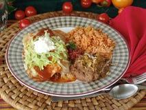 мексиканец еды Стоковое Изображение RF