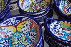 мексиканец керамики Стоковая Фотография