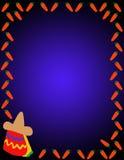 мексиканец предпосылки Иллюстрация штока