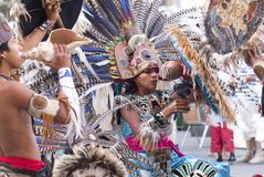 мексиканец танцора индийский Стоковое фото RF