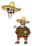 мексиканец человека Стоковая Фотография RF