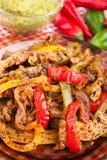 мексиканец guacamole тарелки стоковое изображение rf