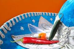 мексиканец habanero chili горячий перчит красное serrano Стоковая Фотография