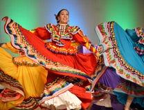 Мексиканская дама Танцор стоковое фото rf