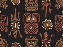 Мексиканская безшовная картина Стоковое фото RF